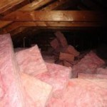 Insulation Defects by Angus Home Inspector